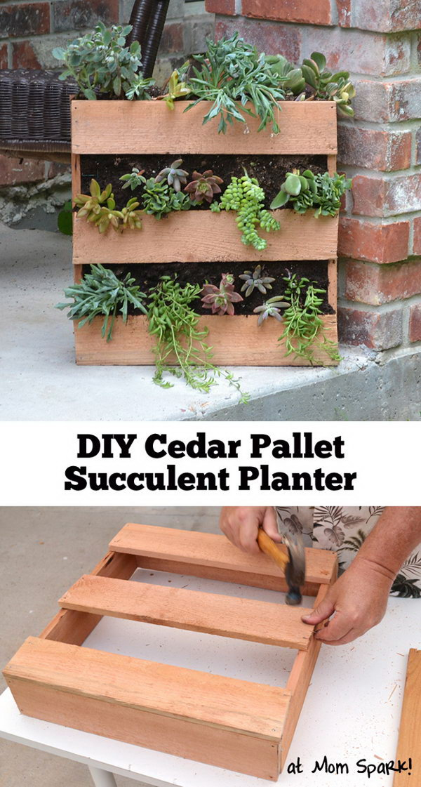 20 Creative Pallet Planter Projects for Your Garden