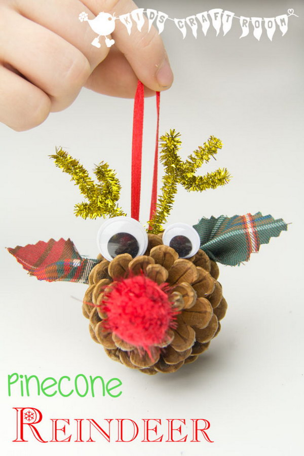 13 Creative Reindeer Crafts & Decorations for Christmas