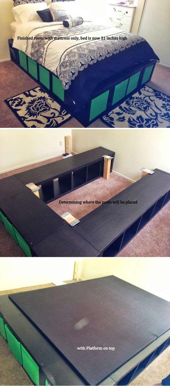 14 DIY Platform Bed Ideas