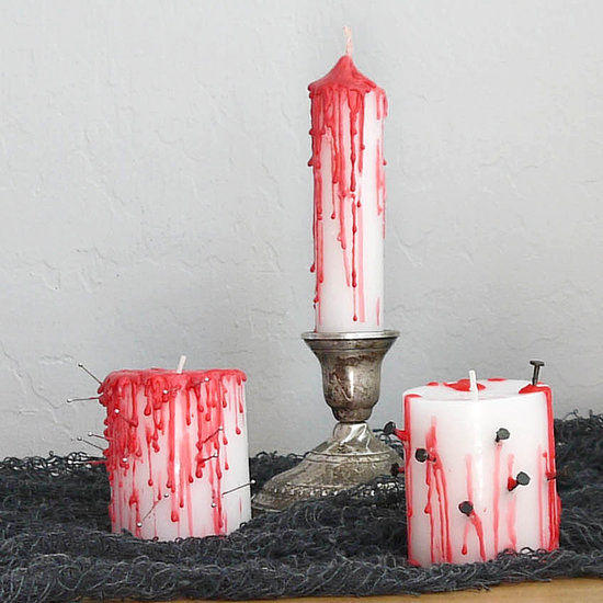 12 Spooky DIY Halloween Candles