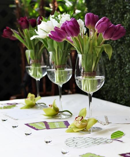 9 Amazing Decoration Ideas Using Wine Glasses