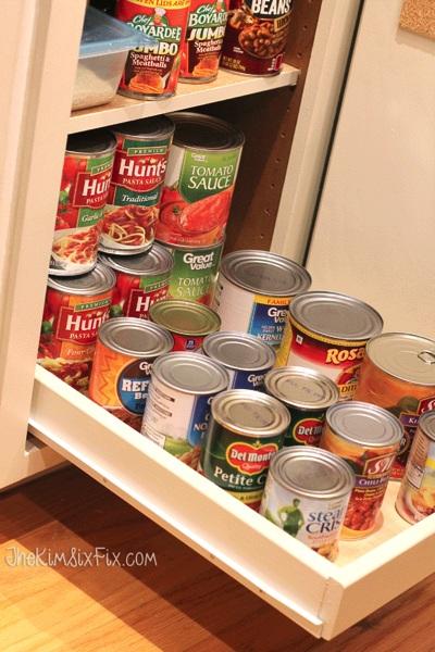 16 DIY Canned Food Organizers