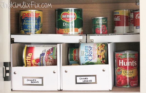 16 DIY Canned Food Organizers
