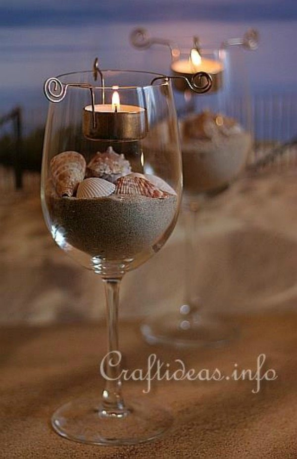 9 Amazing Decoration Ideas Using Wine Glasses